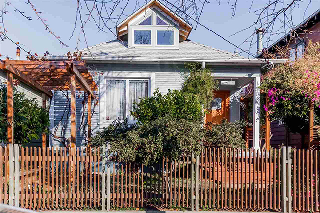 Two bedrooms and a bath with usable attic above. Nearly new foundation, great condition throughout. Near BART, Berkeley Bowl, new library and park.  Sold $763,000