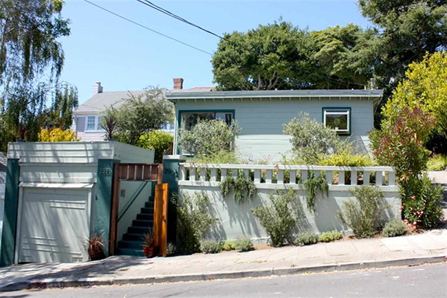 2 BD/1 BA cottage-like units that are nearly detached situated in a wonderful garden setting. Private landscaped yard partial bay views hardwood floors throughout stainless steel appliances ample parking and storage updated systems. A true pride of ownership.  Sold $1,086,000